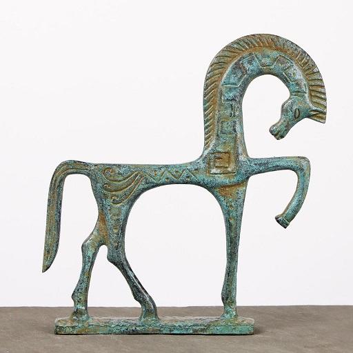 greek-horse-statue